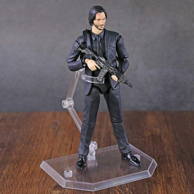NEW MAFEX NO.070 John Wick Chapter 2 Killer Keanu Reeves Action Figure With Box