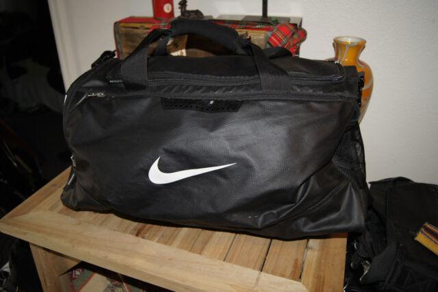 Nike Hoops Elite Duffle Bag Max Air Training Gym Sports Black White BA4881-001