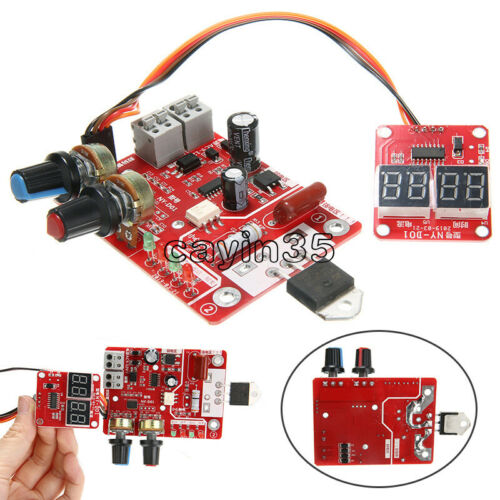 Spot Welder Machine Time Control Board Current Digital Display Controller 40A