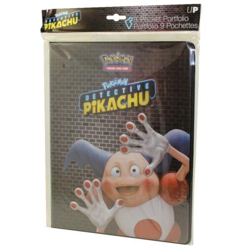 Ultra Pro Pokemon TCG MR MIME Detective Pikachu 9 Pocket Portfolio Album