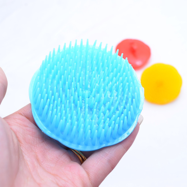 1X Anti Dandruff Shampoo Brush Head Hair Loss Prevention Comb Scalp Massager H7