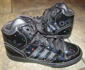 premium selection 729ba e08e6 Details about 🔥Adidas Women's Scarpe Donna Extaball High Top Sneakers -  RARE Size 7