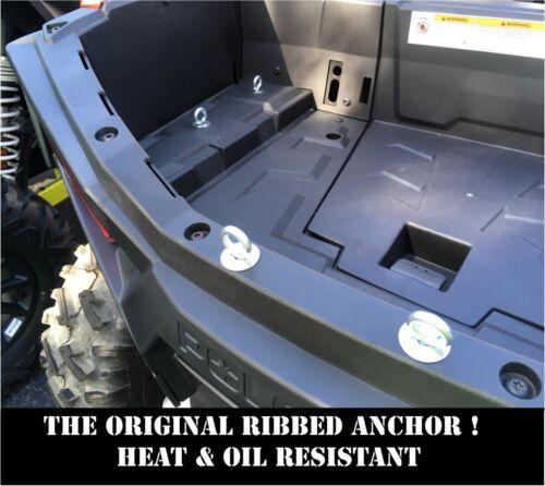 07-15 POLARIS RZR 800 570 XP BED TIE DOWN ANCHOR SET ATV LOCK /& RIDE 6 900