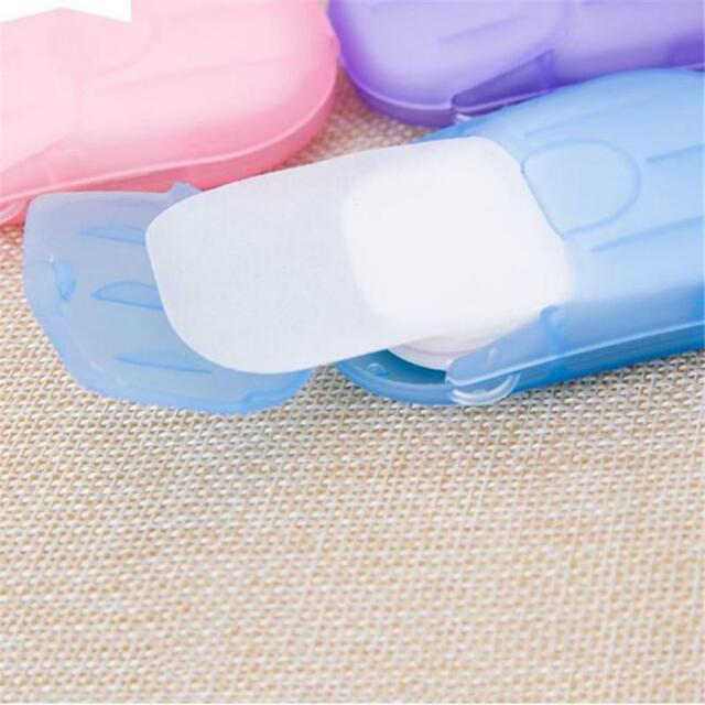 Antibacterial Bactericidal Paper Hand Soap Travel Scented Slice Sheet Foaming