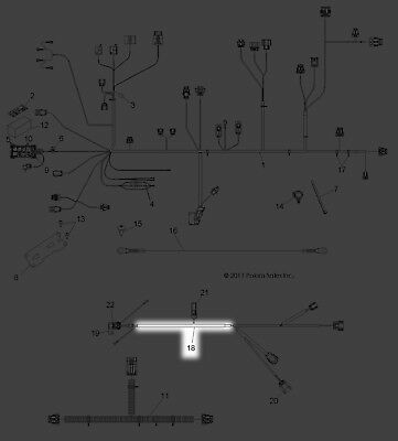 polaris 2012 2014 ranger 800 ranger xp 800 harness eps. Black Bedroom Furniture Sets. Home Design Ideas