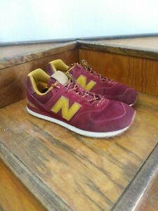 New-Balance-574-Retro-Suede-Leather-Running-Shoes-Men-s-Size-11-5D