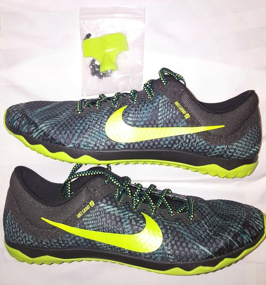 Nike Rival XC Racing Grind Cleats Spikes 749349-370 Men's Sz 13 Track & Field