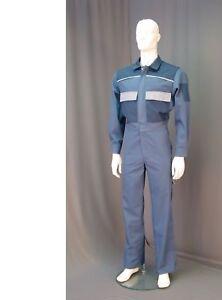 Jumpsuit Overall Ganzkörperanzug Arbeitsanzug Blaumann Maleranzug weiß