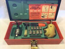 Vintage Right Angle Drill Attachment Set Coastal Ridgid Chuck Key Wards Socket