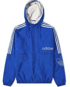 Details about Adidas Originals Men's Collegiate Royal Trefoil Jacket New DH7080 Size XL