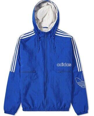 Adidas Originals Men's Collegiate Royal Trefoil Jacket New DH7080 Size XL | eBay