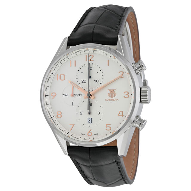 Tag Heuer Carrera Calibre 1887 Chronograph Mens Watch THCAR2012FC6235