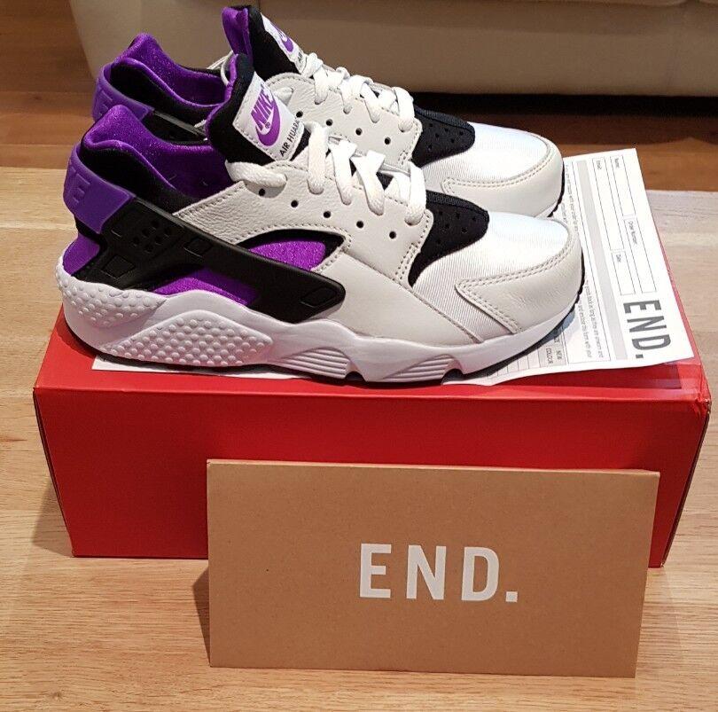 Nike air huarache run '91 punch viola nero-white