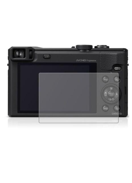2X Transparente LCD Lámina Protectora para Pantalla Panasonic Lumix DMC-TZ60