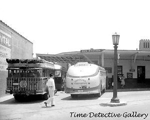 Carolina Trailways Bus Station Durham N Carolina 1940 Historic
