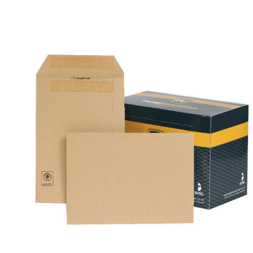 D2610 New Guardian C5 Envelopes 229x162mm 130gsm Manilla Self Seal Pack of 250
