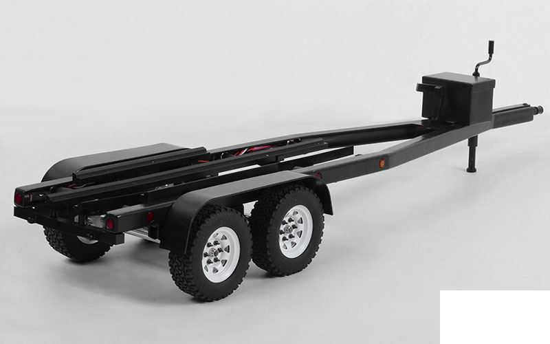 BigDog 1 10 Dual Axle Scale Boat METAL Trailer Z-H0006 Lights RC4WD TOY Ramps RC