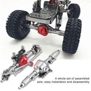 2pcs Essieu Rc Voiture Accessoire Pour Scx10 Axial Rc4wd D90 1:10 Crawler