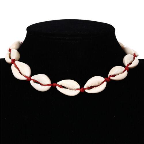 Bohemian Sea Shell Conch Pendant Necklace Collar Choker Beach Charm Jewelry~GN