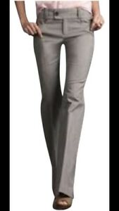 Banana-Republic-Women-039-s-Pants-Martin-Fit-323-Gray-Pants-Stretch-Size-8-X-33-NWT