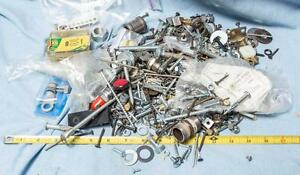 Lot-of-Hardware-Screws-Nuts-Bolts-etc-7-Pounds-dq