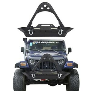 Image Is Loading STINGER Front Bumper W LED Lights Amp Winch
