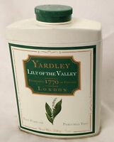 Yardley 7 Oz Lily Of The Valley London Talc Perfume Powder