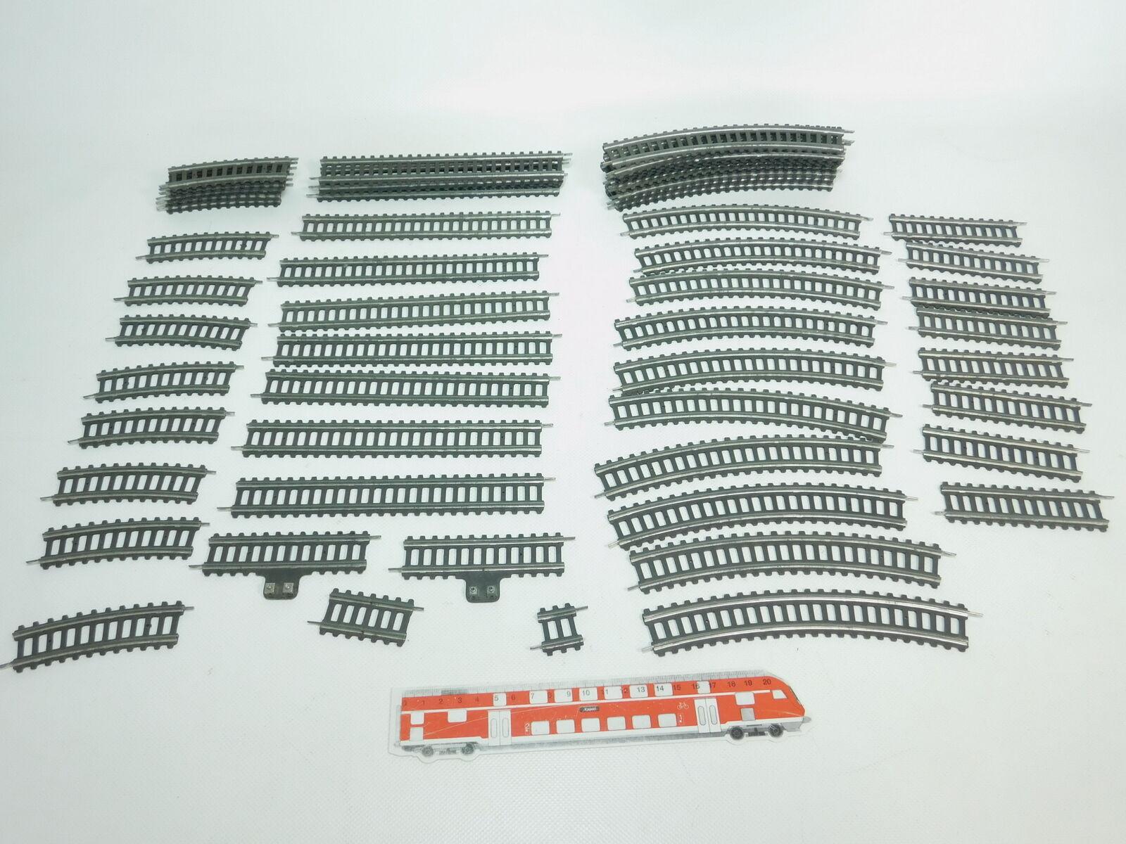 Bk277-1  57x Fleischuomon di autotone soglia h0 h0 h0 dc binario  pezzo di compensazione etc 456fcb