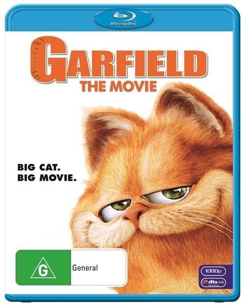 Garfield - The Movie (Blu-ray, 2010) -FREE POST