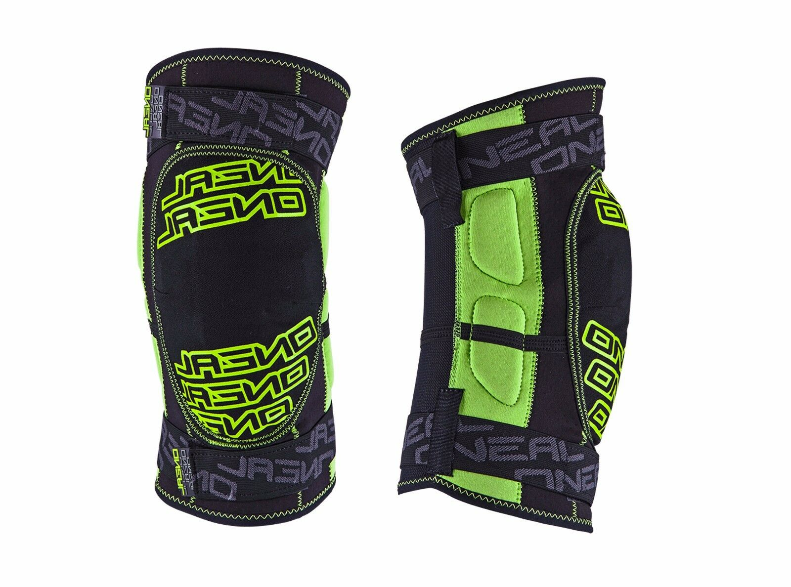O'Neal Dirt Comfortable Soft Mountain Bike Knee Guard RL Protection verde Size S