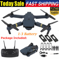 Drone X Pro WIFI FPV 1080P 4K HD-Camera 3Batteries Foldable Selfie RC Quadcopter