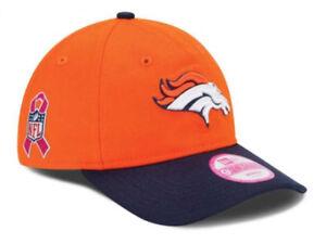 ffc0fa73784 Denver Broncos NFL BCA Women s Adjustable Hat Cap Breast Cancer ...