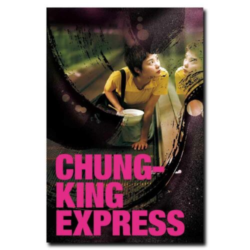 Chungking Express 20x30inch Hong Kong Movie Silk Poster Pub Shop Decoration