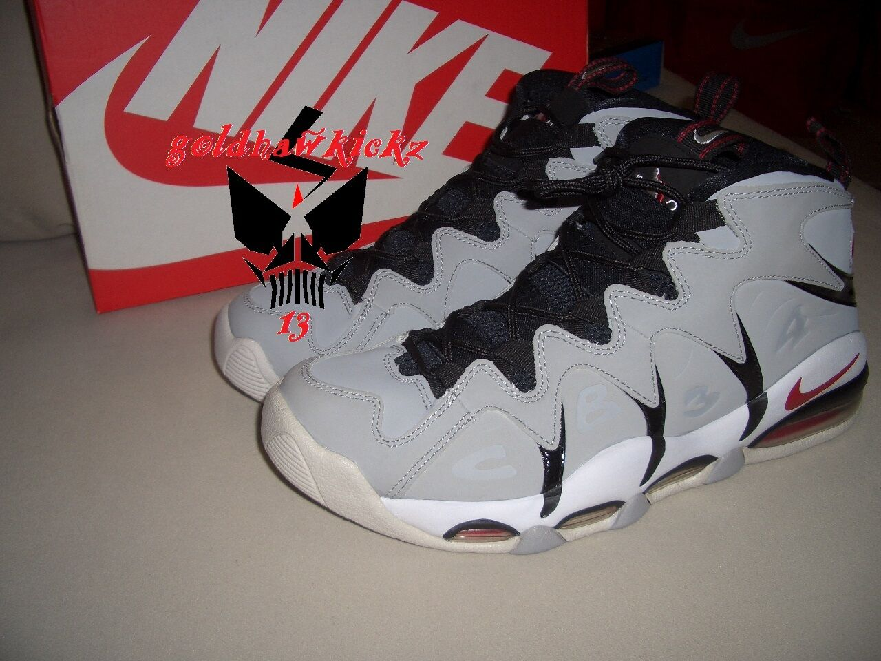 NIKE AIR NEUTRAL MAX CB34 barkley WOLF GREY VARSITY RED NEUTRAL AIR GREY 414243 003 d74e91