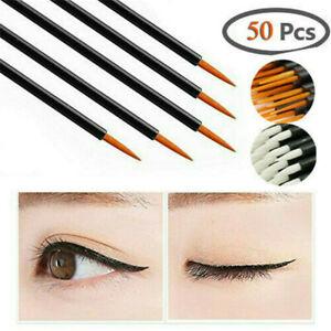 50PCS-New-Disposable-Lip-Lipstick-Gloss-Wands-Brush-Applicator-Makeup-Tool-Stick