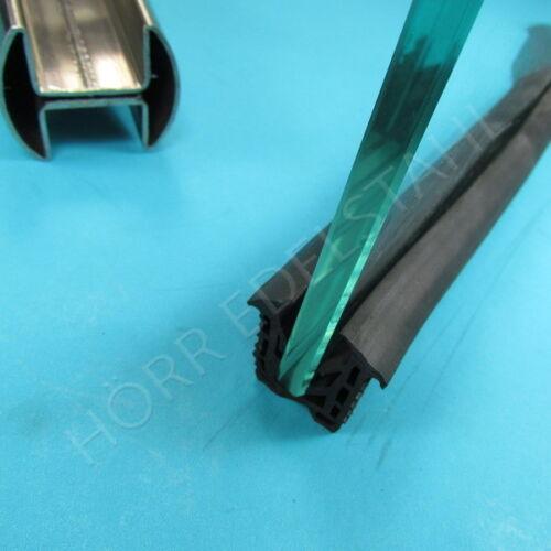 14-18mm Glasleistenrohr Dichtung Doppelnut 48,3 Glas v