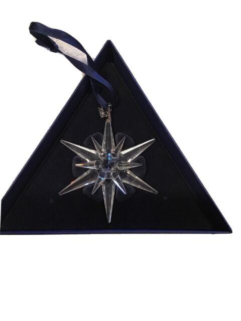 2005 Swarovski Crystal Christmas Ornament Star Snowflake ...