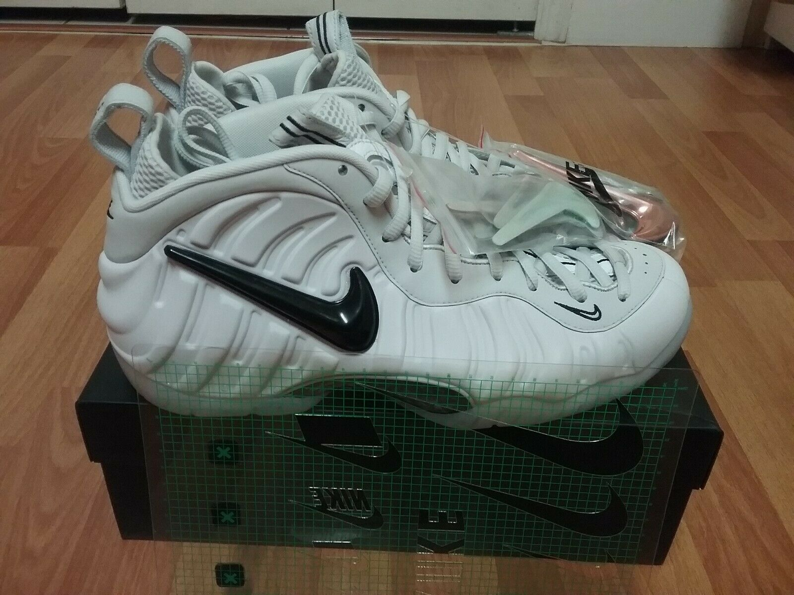 Nike Air Foamposite Pro AS QS  Swoosh Pack  AO0817-001 Size 11