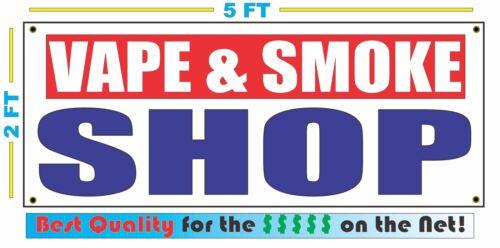 VAPE /& SMOKE SHOP Banner Sign NEW