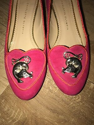 Charlotte Olympia - Year of the Rat flats - size 40