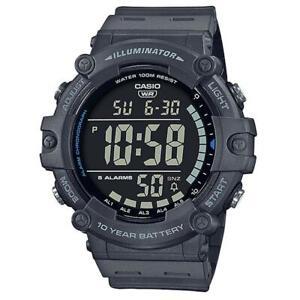 Orologio Uomo CASIO AE-1500WH-8BVEF Silicone Grigio Digitale Chrono Alarm Timer