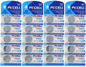20-x-CR2032-3V-Lithium-Batterie-auf-4-Blistercard-a-5-Stueck-PKCELL