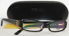 NEW AUTHENTIC FENDI WOMEN'S EYEGLASSES FRAME F957R 215 HAVANA RUNWAY WITH CASE