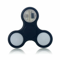 Fidget Finger Spinner Desk Gyro High Speed Bar Copper Blue