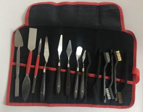 Archéologue Archéologie Dig trouve Kit d/'outils dans un Roll Up Toile Case Set B