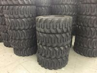 4 12-16.5 Skid Steer Tires 12ply Rating 12 16.5 12x16.5 Bobcat