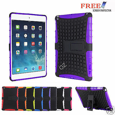 Heavy Duty Shock Proof Tough Tradesman Case Cover For Apple iPad 4 3 2