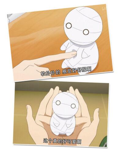 Miira no Kaikata How to Keep a Mummy Mii Cosplay Mini Plush Doll Toy Keychain