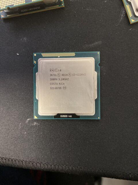 Intel Xeon E3-1220L V2 CPU 2.3GHz LGA 1155 SR0R6 2 Core Processor