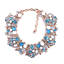 Women-039-s-Crystal-Rhinestone-Choker-Statement-Pendant-Chunky-Bib-Necklace-Jewelry thumbnail 16